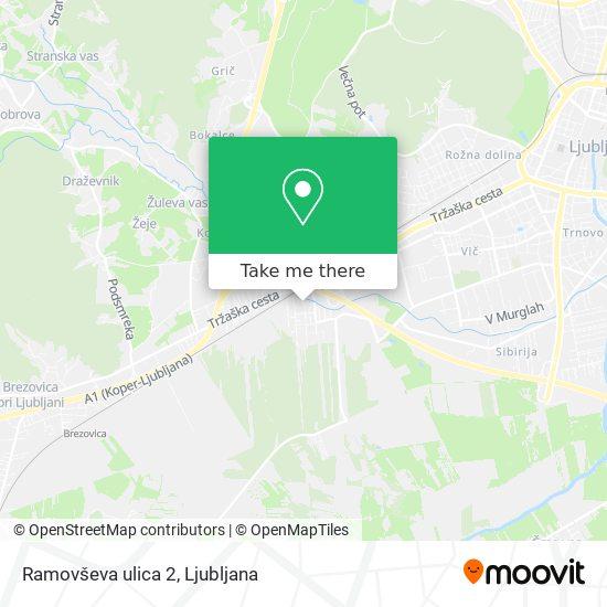Ramovševa ulica 2 map