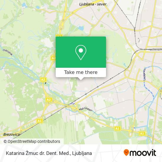 Katarina Žmuc dr. Dent. Med. map