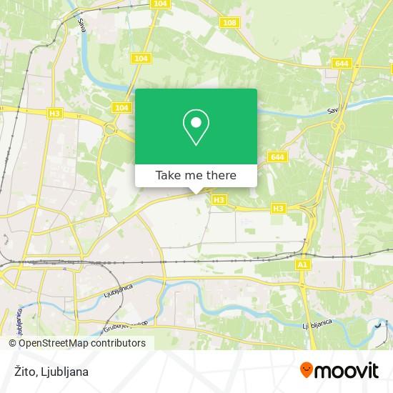 Žito map