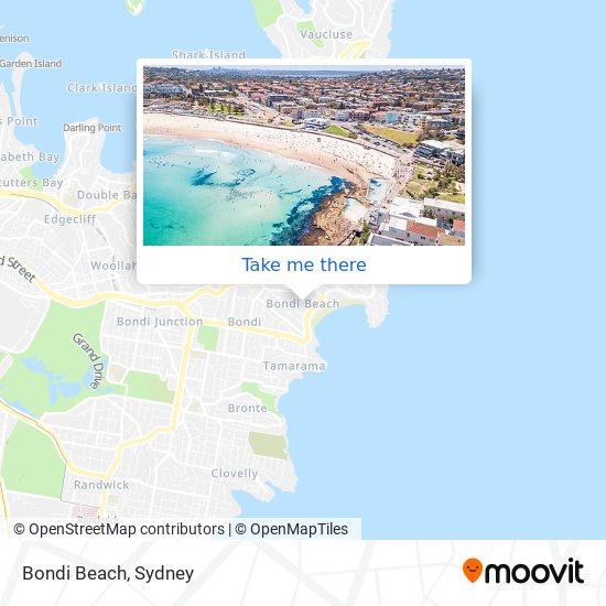 Bondi Beach plan
