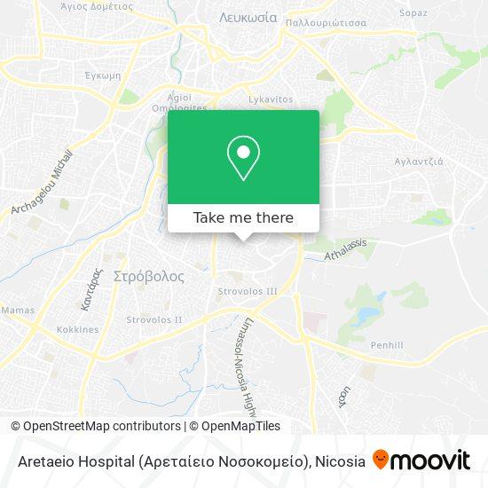 Aretaeio Hospital (Αρεταίειο Νοσοκομείο) map