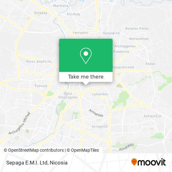 Sepaga E.M.I. Ltd map