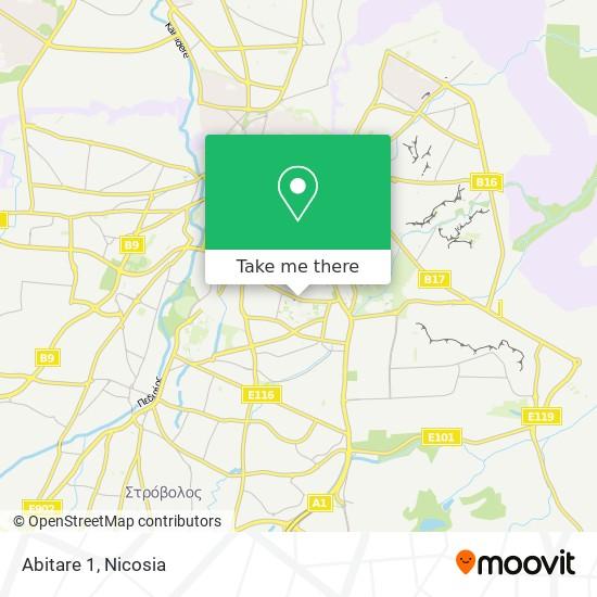 Abitare 1 map
