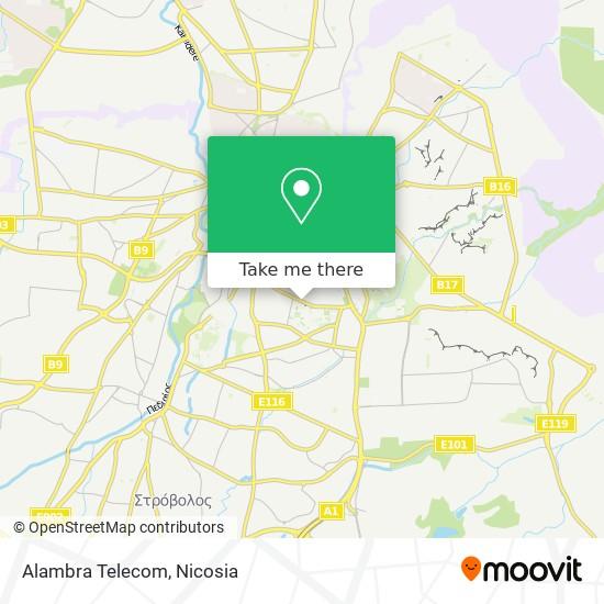 Alambra Telecom map