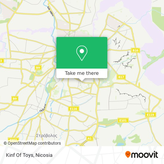 Kinf Of Toys map