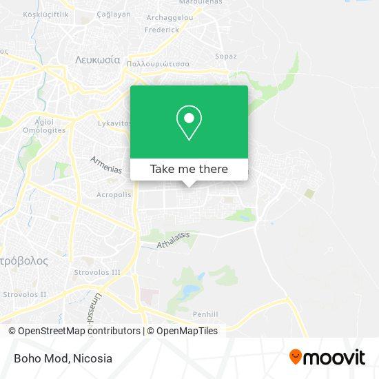 Boho Mod map