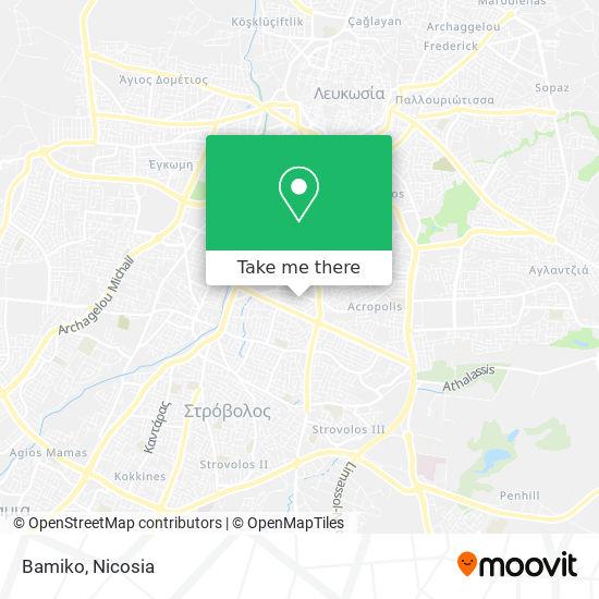 Bamiko map