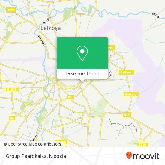 Group Psarokaika map