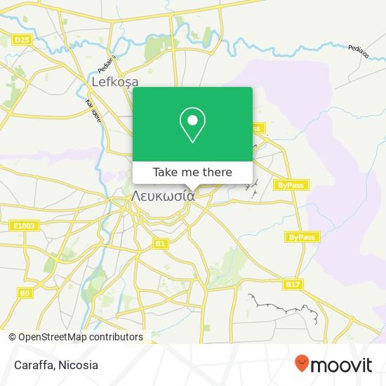 Caraffa map