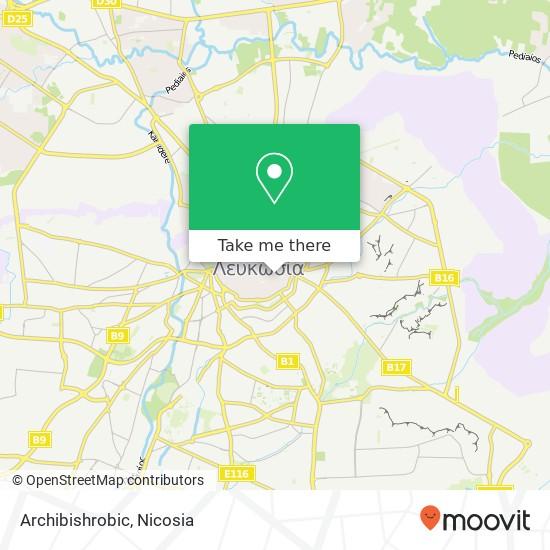 Archibishrobic map