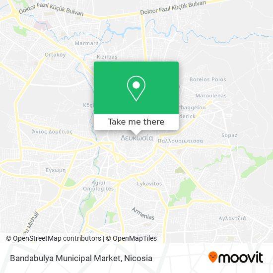 Bandabulya Municipal Market map