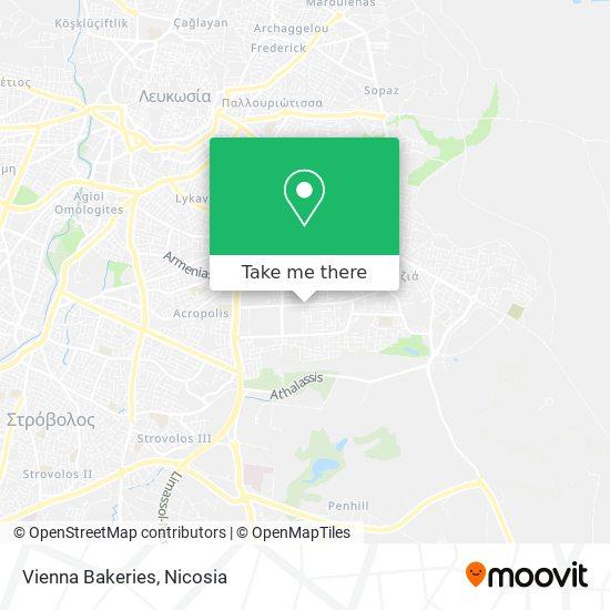 Vienna Bakeries harita