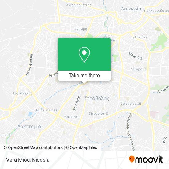 Vera Miou map