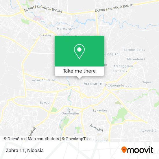Zahra 11 map