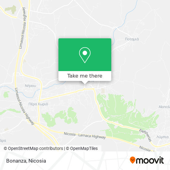 Bonanza map