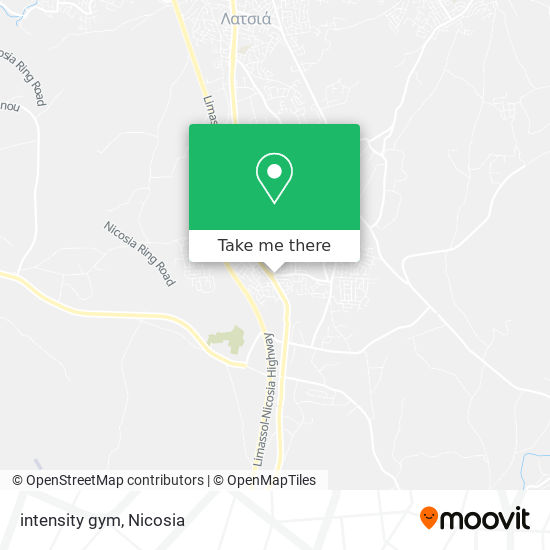 intensity gym map