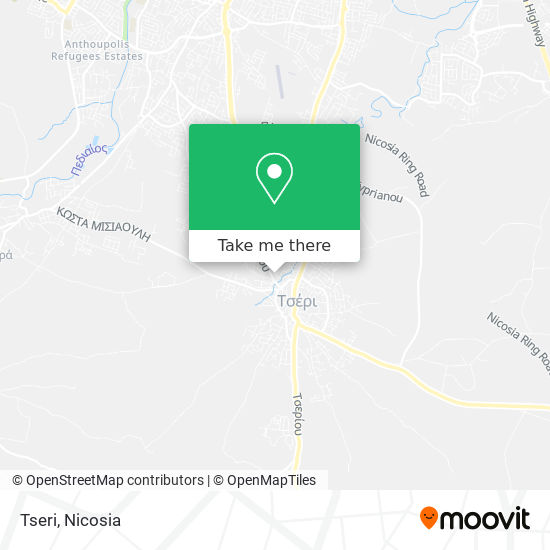 Tseri map