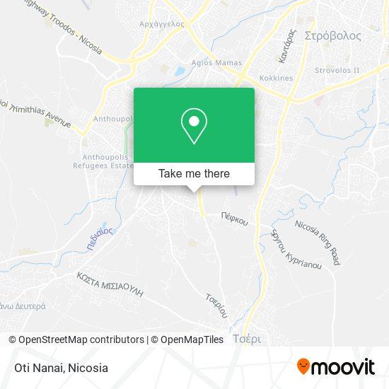 Oti Nanai map