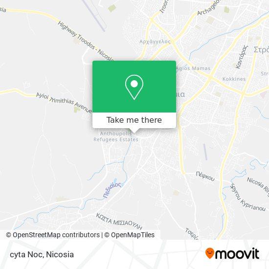 cyta Noc map