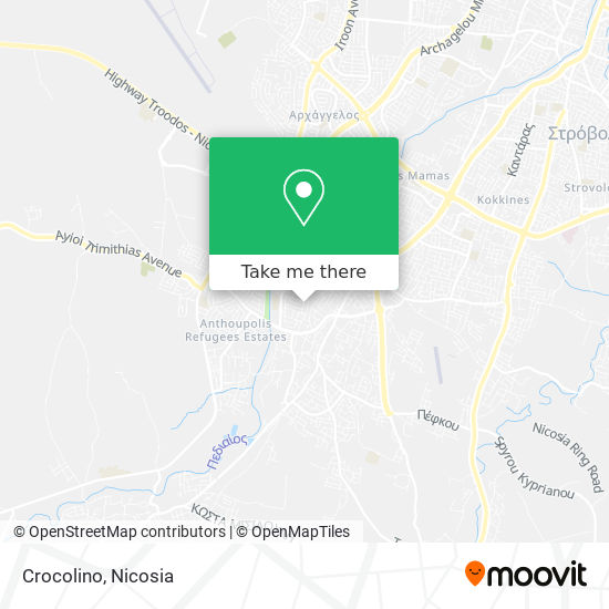 Crocolino map