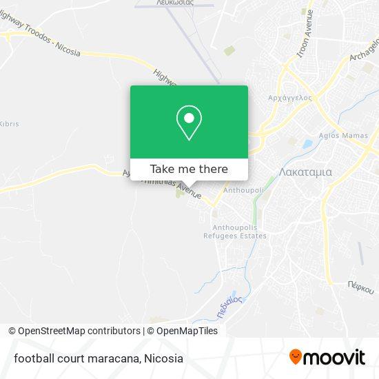 football court maracana map