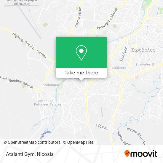Atalanti Gym harita