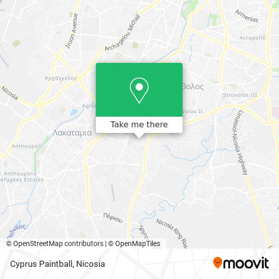 Cyprus Paintball map