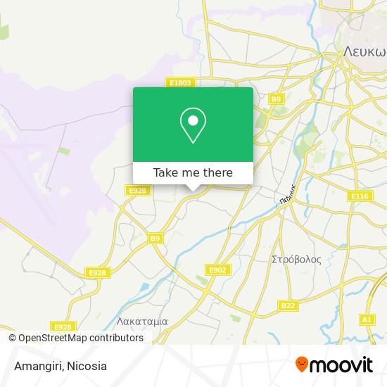 Amangiri map