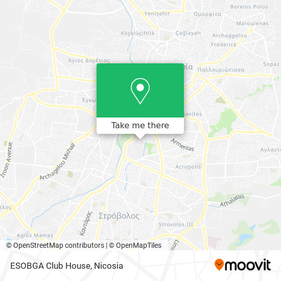 ESOBGA Club House map