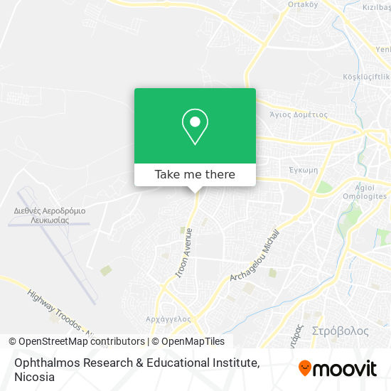Ophthalmos Research & Educational Institute map