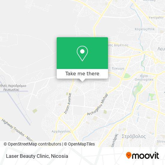 Laser Beauty Clinic map