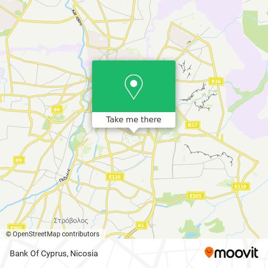 Bank Of Cyprus map