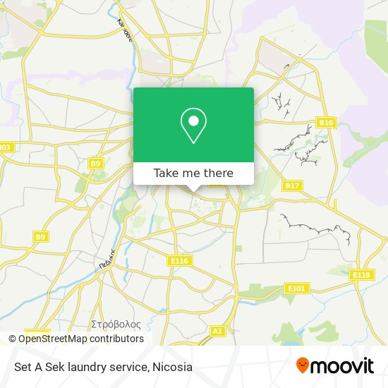 Set A Sek laundry service map