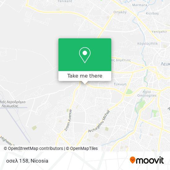 οσελ 158 map