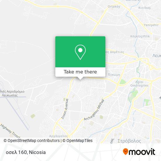 οσελ 160 map