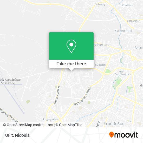 UFit map