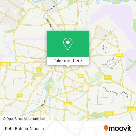 Petit Bateau map