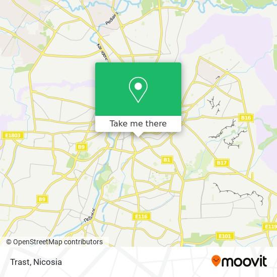Trast map