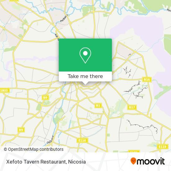 Xefoto Tavern Restaurant map