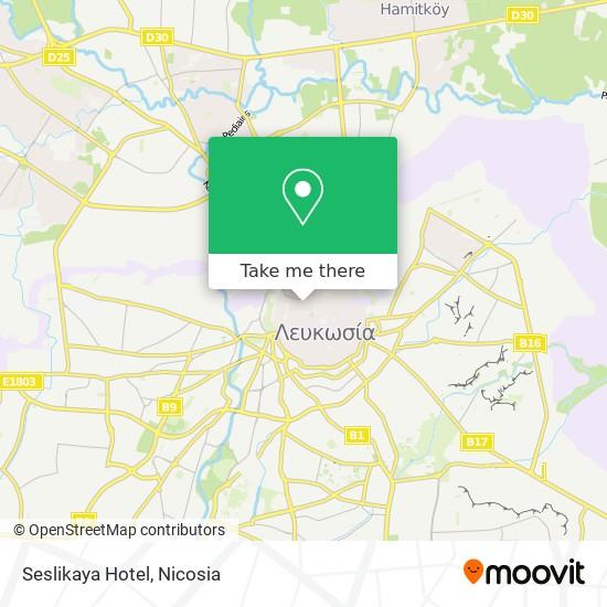 Seslikaya Hotel map