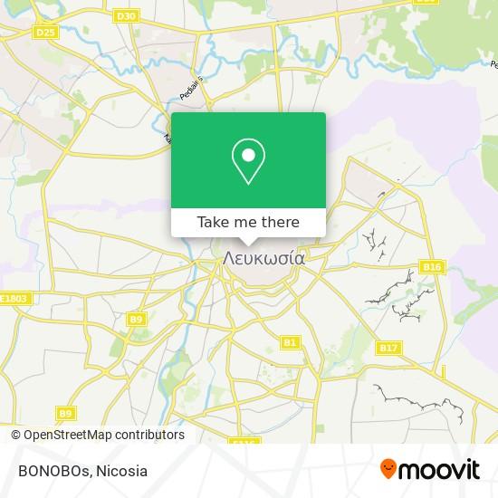 BONOBOs map