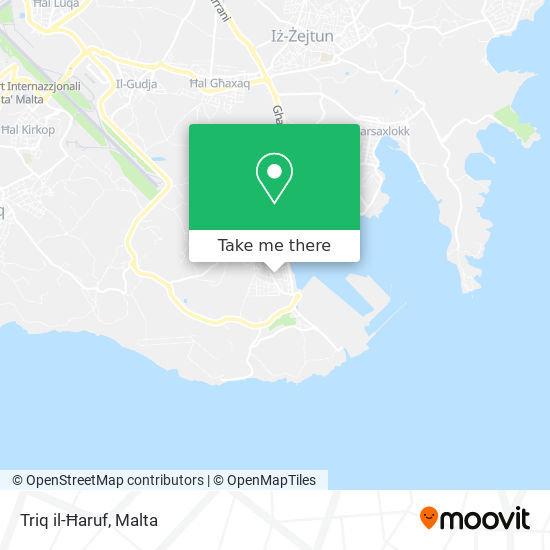 Triq il-Ħaruf plan