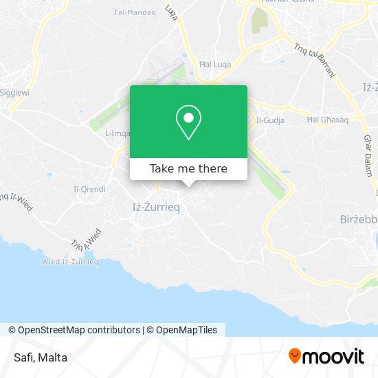 Safi map