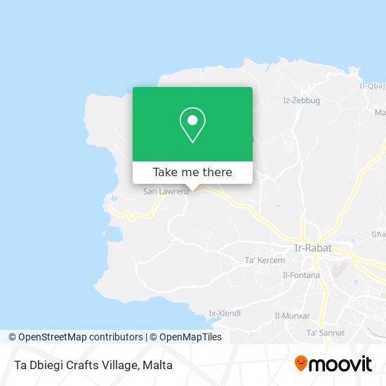 Ta Dbiegi Crafts Village plan