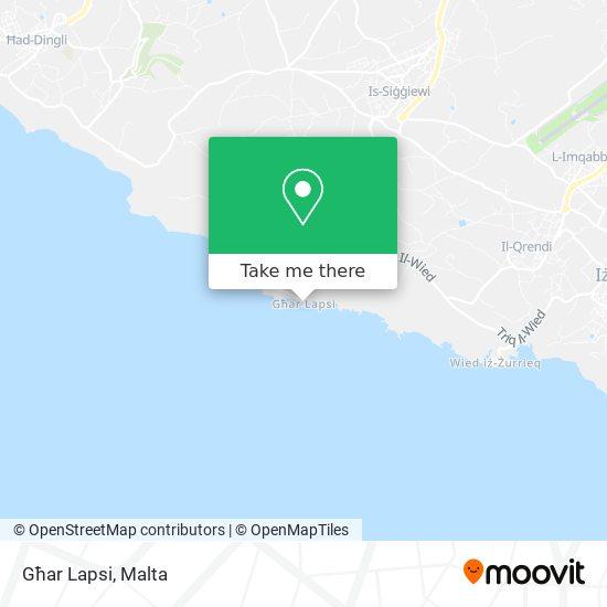 Għar Lapsi plan