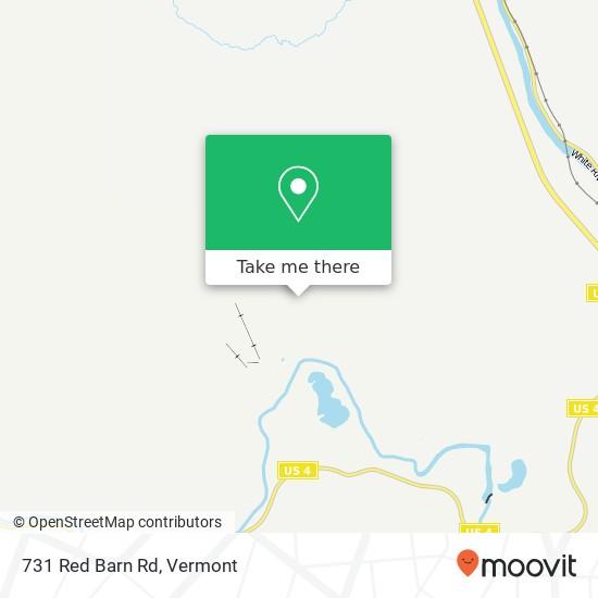 731 Red Barn Rd plan
