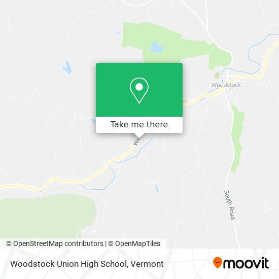 Mapa de Woodstock Union High School