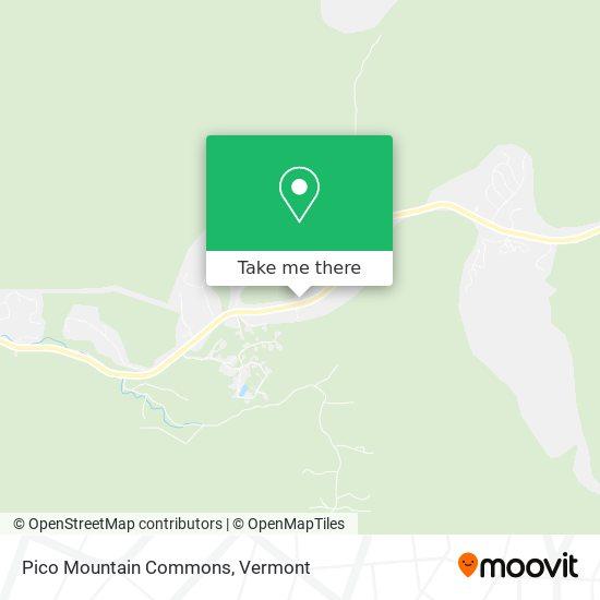 Pico Mountain Commons地图