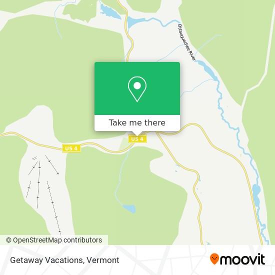 Getaway Vacations地图