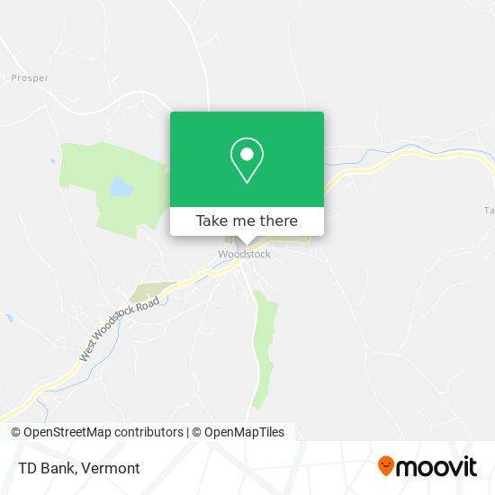 Mapa de TD Bank